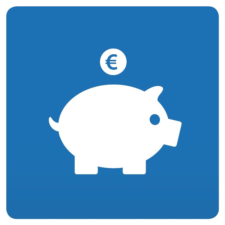 Icoon-Besparend
